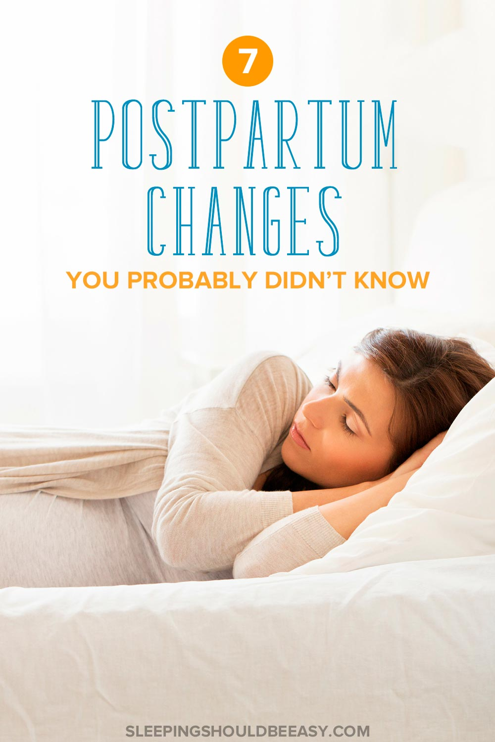 7 postpartum changes you probably didn't know