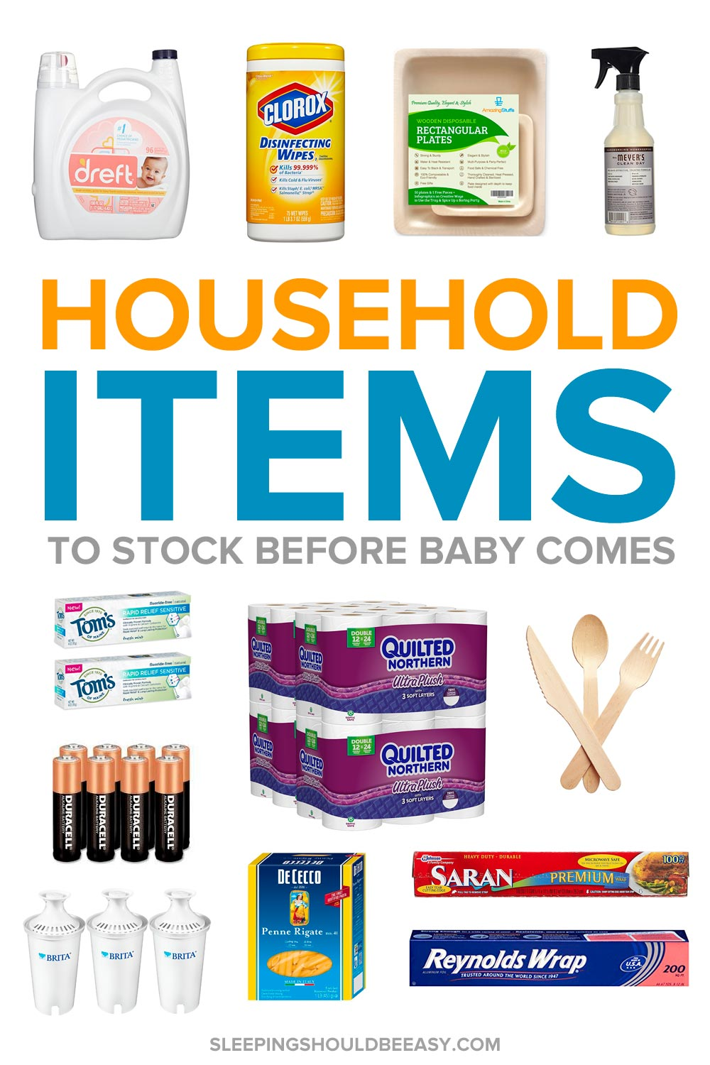 What to stock up on before baby arrives