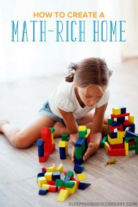 Are you overwhelmed with helping children learn mathematics? Discover effective ways to create a math rich environment at home.