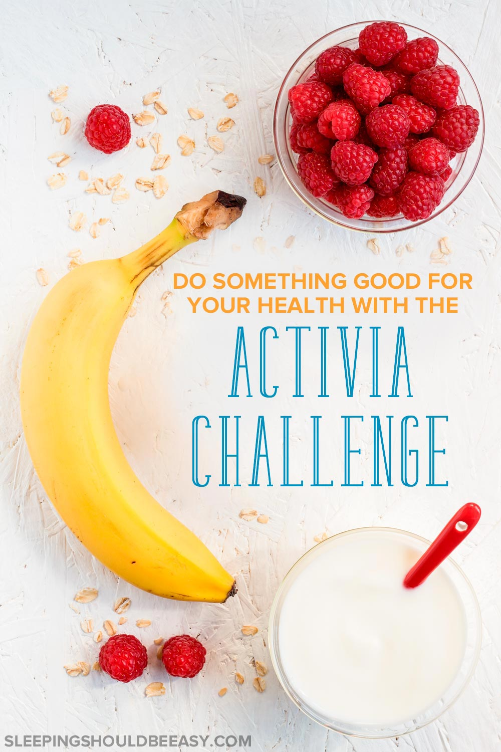 Struggling with gas and bloating? Learn how taking the Activia Challenge can help increase the probiotics your body needs to feel healthy and well.