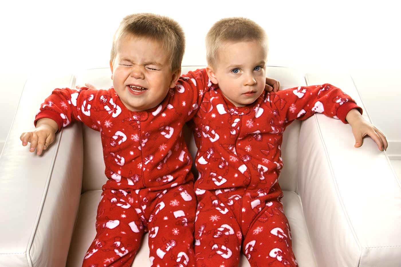 Why you shouldn't tell your twins to stop crying