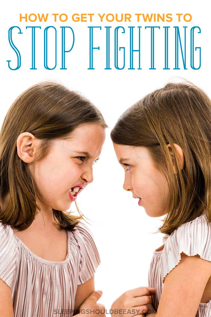 How to Get Your Twins to Stop Fighting