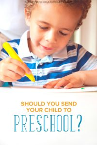Deciding to send your child to preschool can be a difficult choice. Take a look at these preschool pros and cons to help you make your decision.