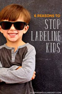 From shy to outgoing, difficult to easygoing, learn the negative effects of labeling kids and why you should not label children (plus what to do instead).