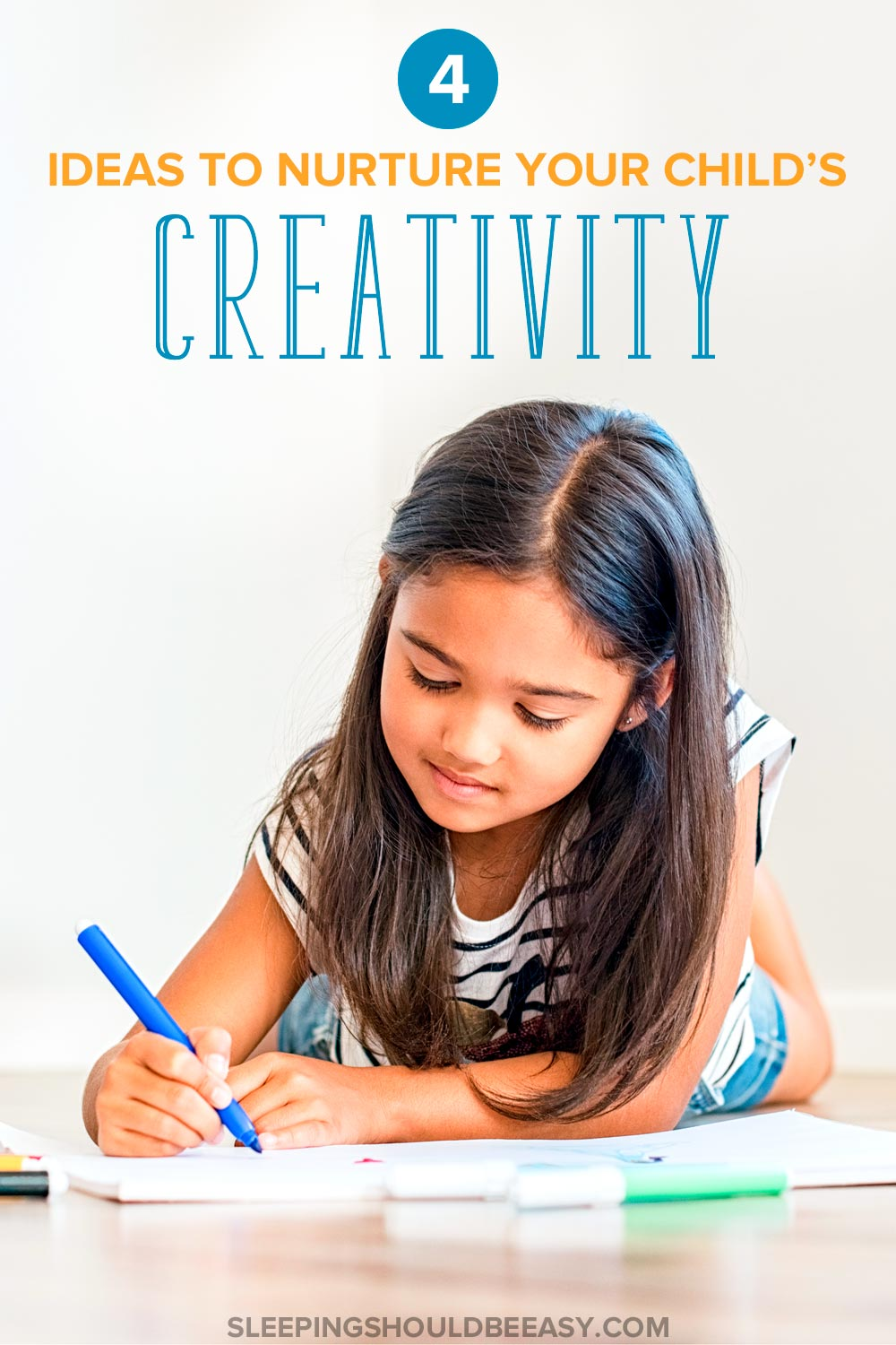 You know the importance of play and creativity for kids, but how can you encourage it in your home? Discover 4 fun and easy ideas to nurture your child's imagination — perfect for children of all ages!