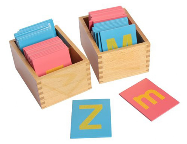 Montessori movable letters