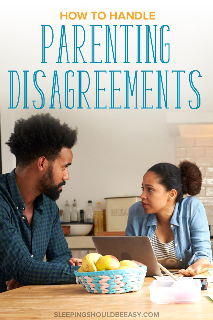 Parenting Disagreements