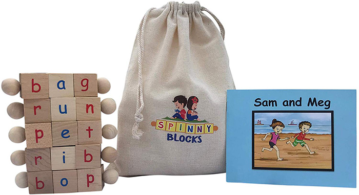 Childlearn Montessori Phonetic Letter Blocks