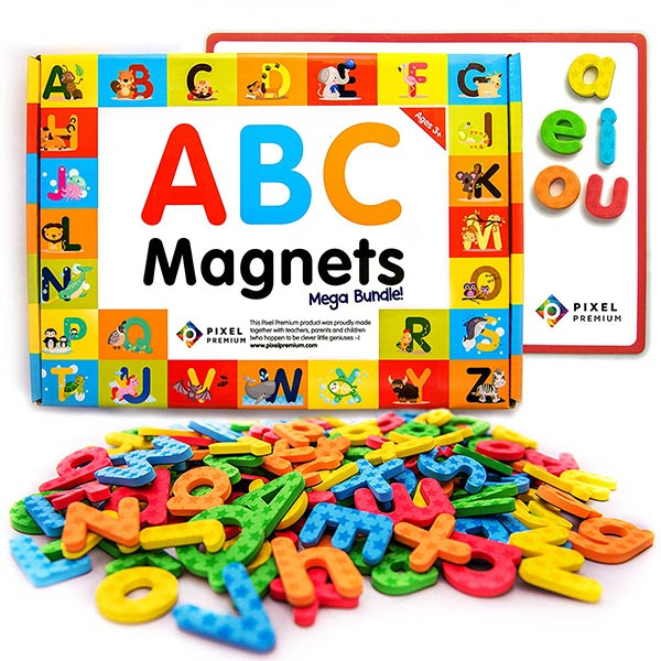 Pixel Premium ABC Magnets