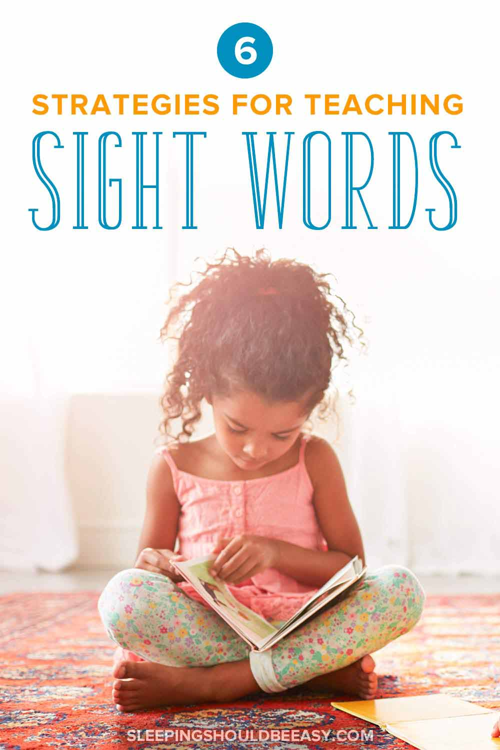 Strategies for teaching sight words