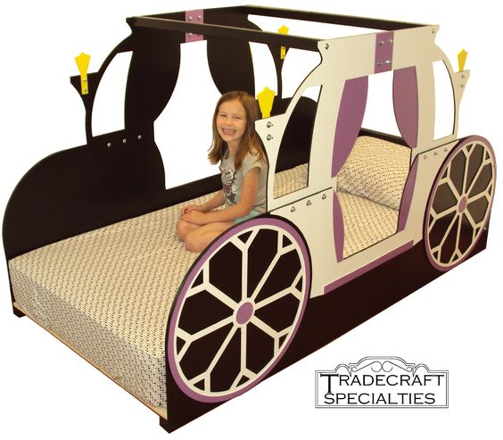 Carriage kids bed