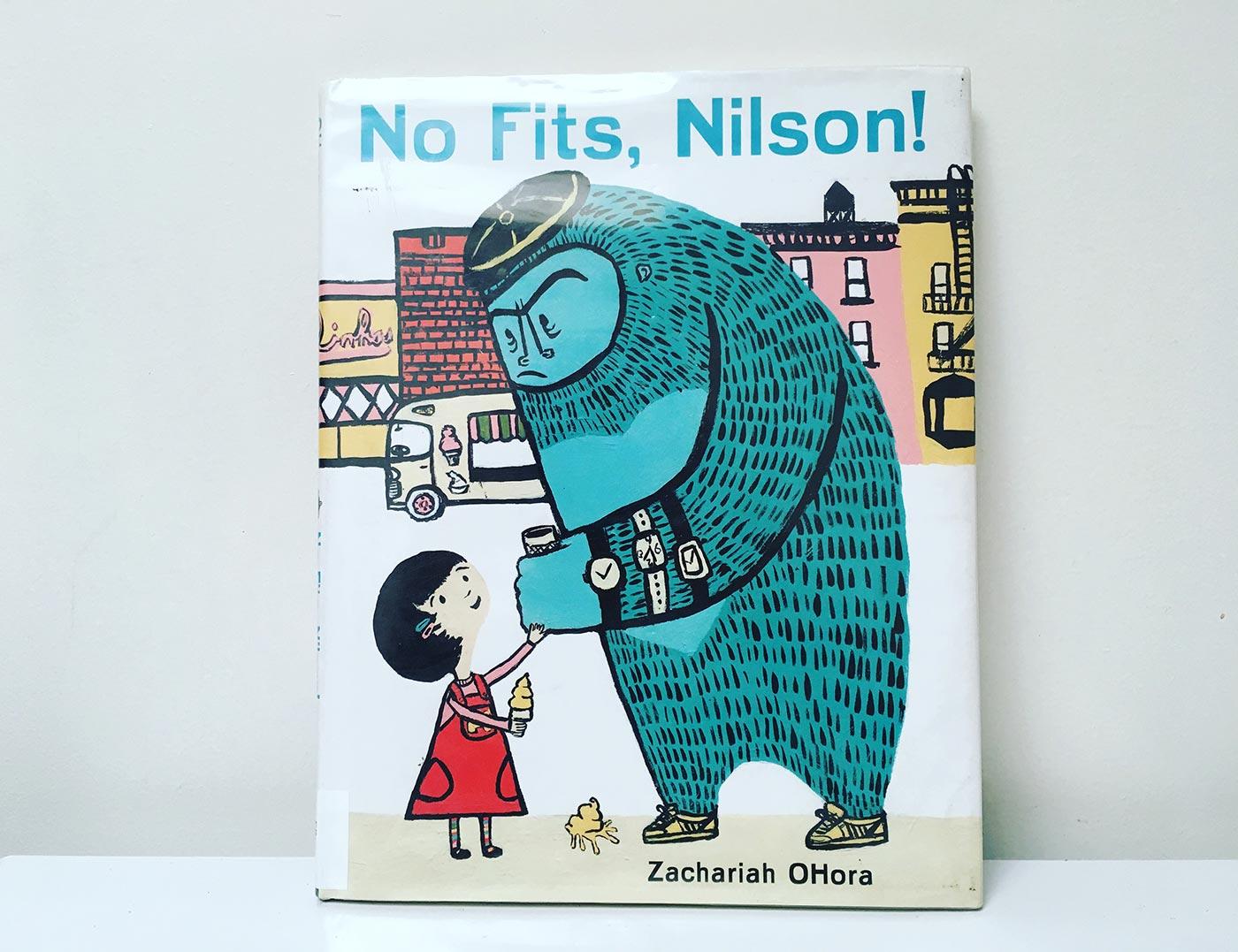 No Fits Nelson children's book