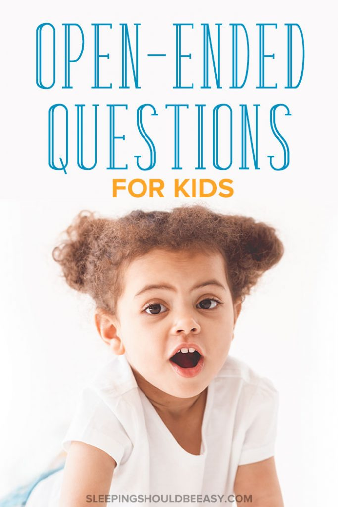 open ended questions for kids