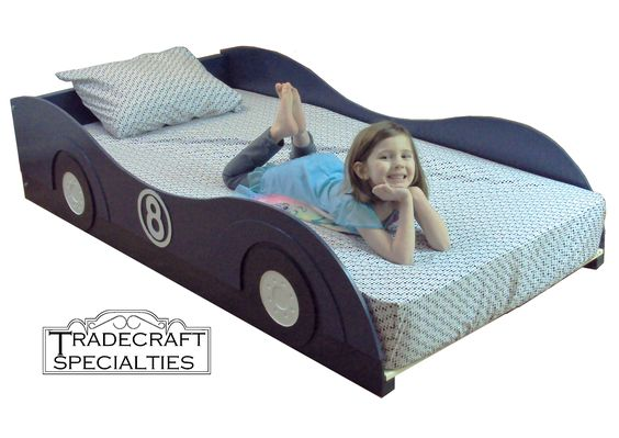 Racecar theme kids bed