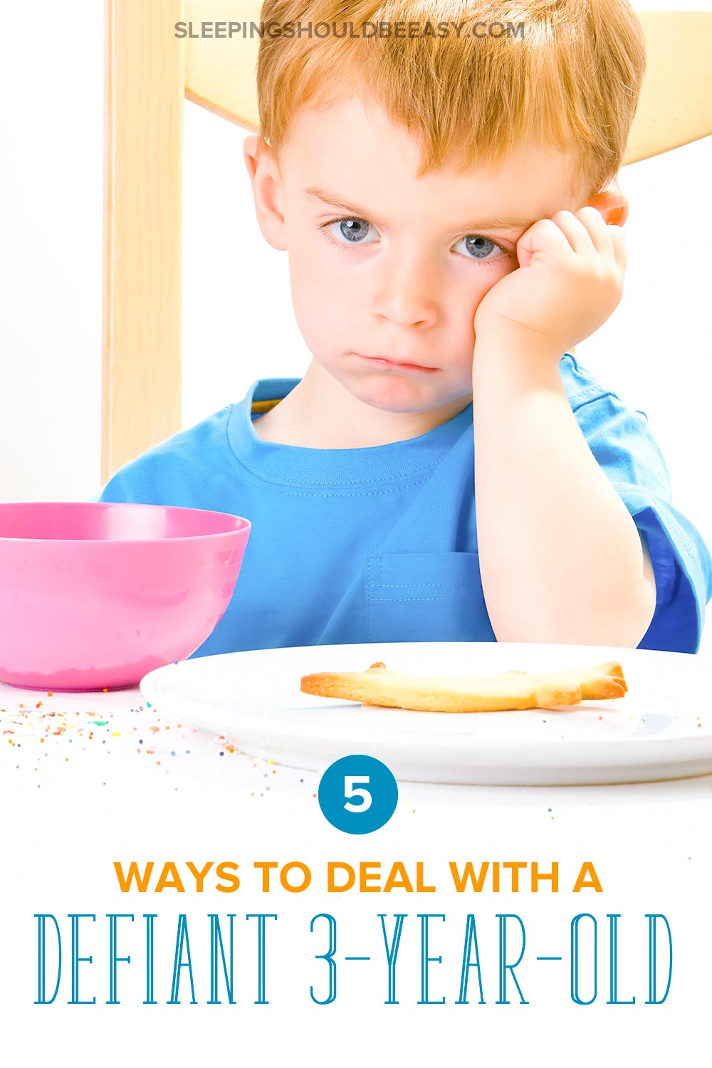 5 ways to deal with a defiant 3 year old