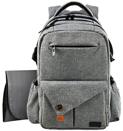 Hap Tim diaper backpack for dads