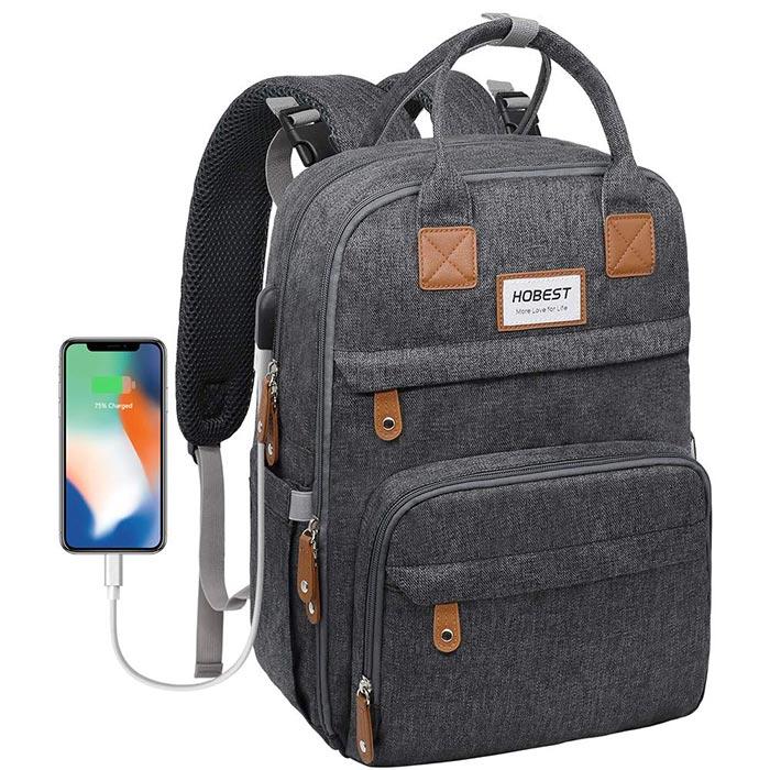 Hobest Diaper Backpack