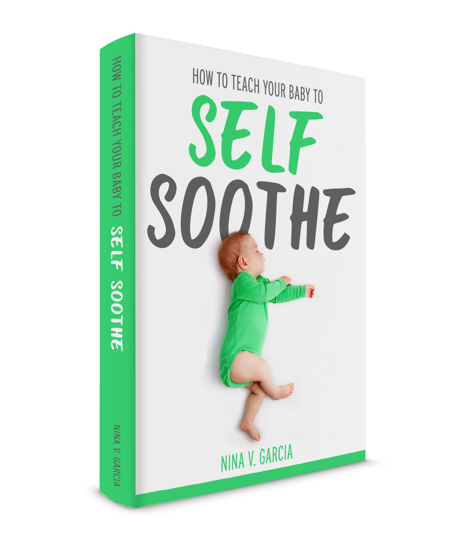 Ebook on how to teach your baby to self soothe