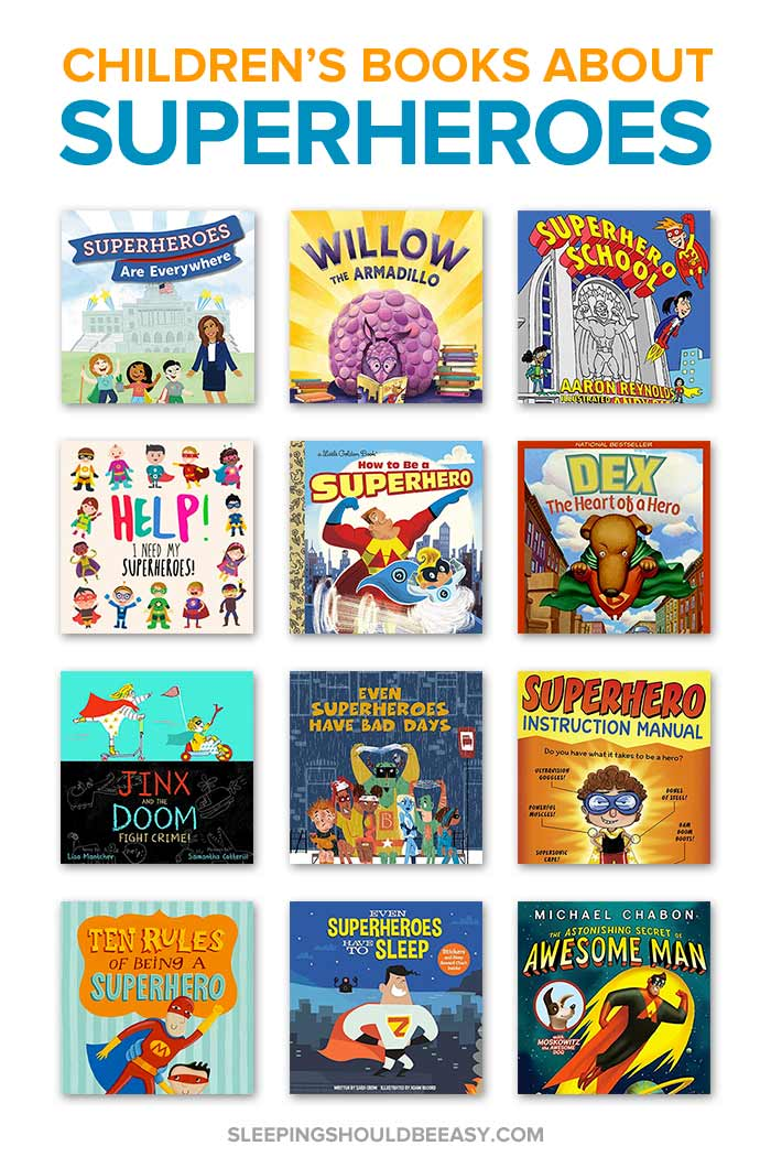 Superhero Books for Kids