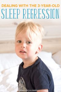 3 year old sleep regression