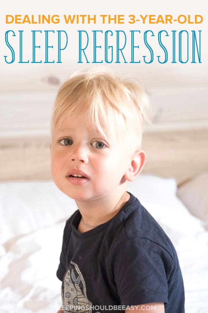 3 year old sleep regression