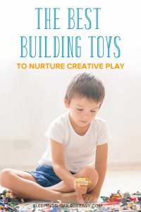 The best building toys to nurture creative play: Boy playing with building toys