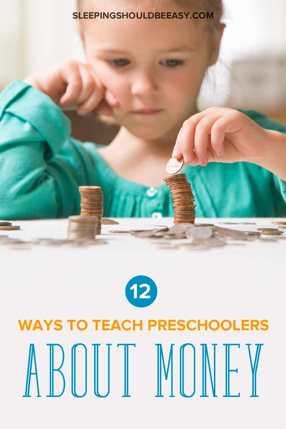 teaching preschoolers about money