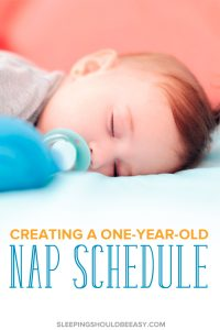 1 year old nap schedule