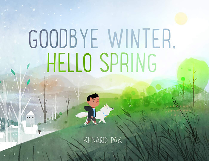 Goodbye Winter, Hello Spring by Kenard Pak