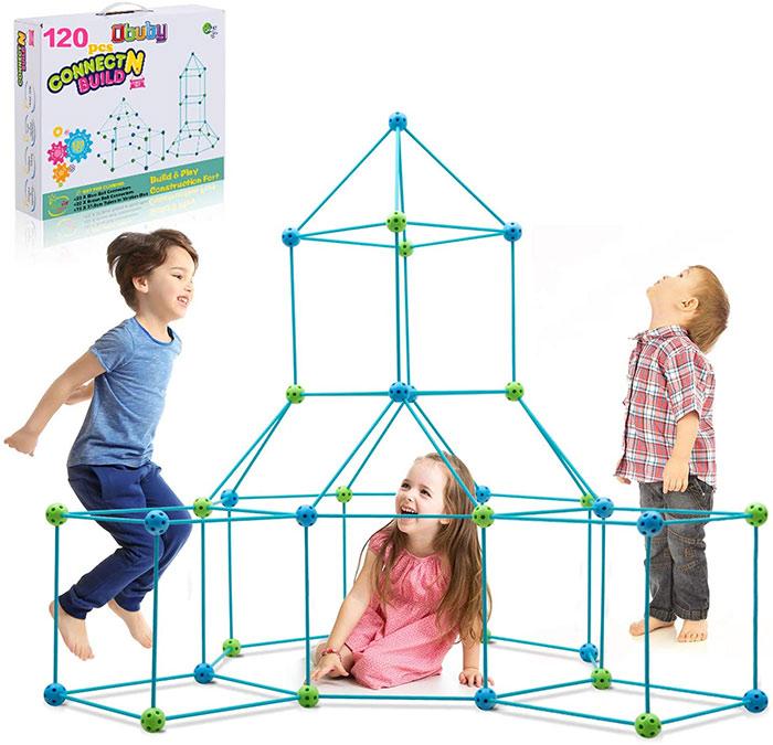 Obuby Kids Fort Building Kit