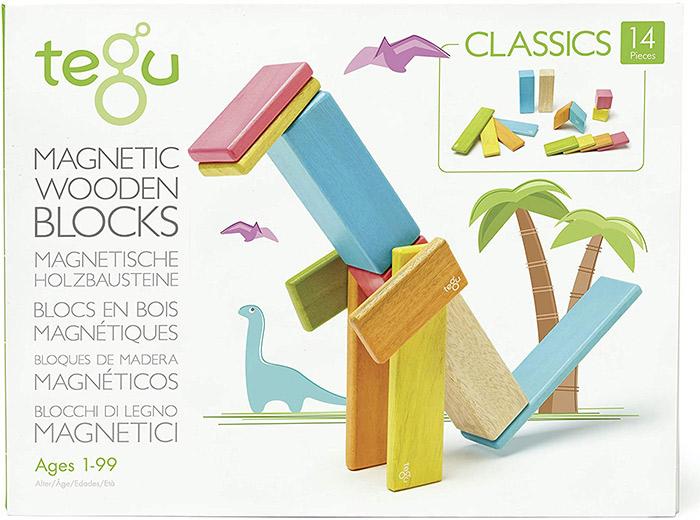 Tegu 14 Piece Magnetic Wooden Blocks