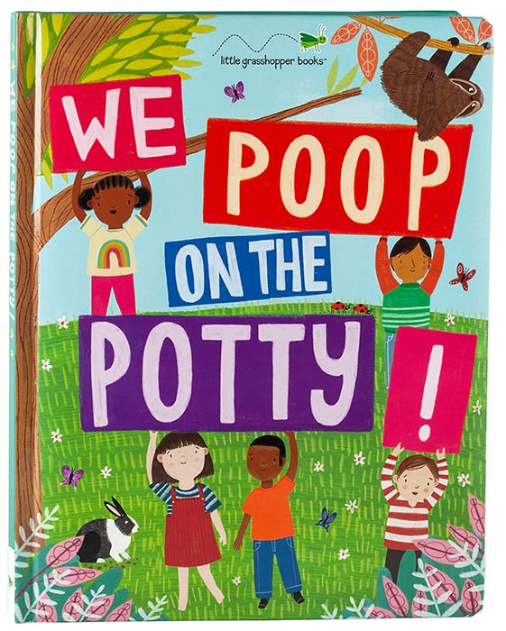 We Poop on the Potty! by Jim Harbison, Nicole Sulgit, and Jean Claude