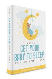 Ebook on how to get your baby to sleep without being held
