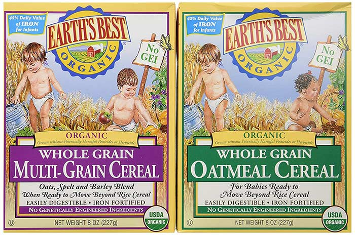 Earth's Best Cereal
