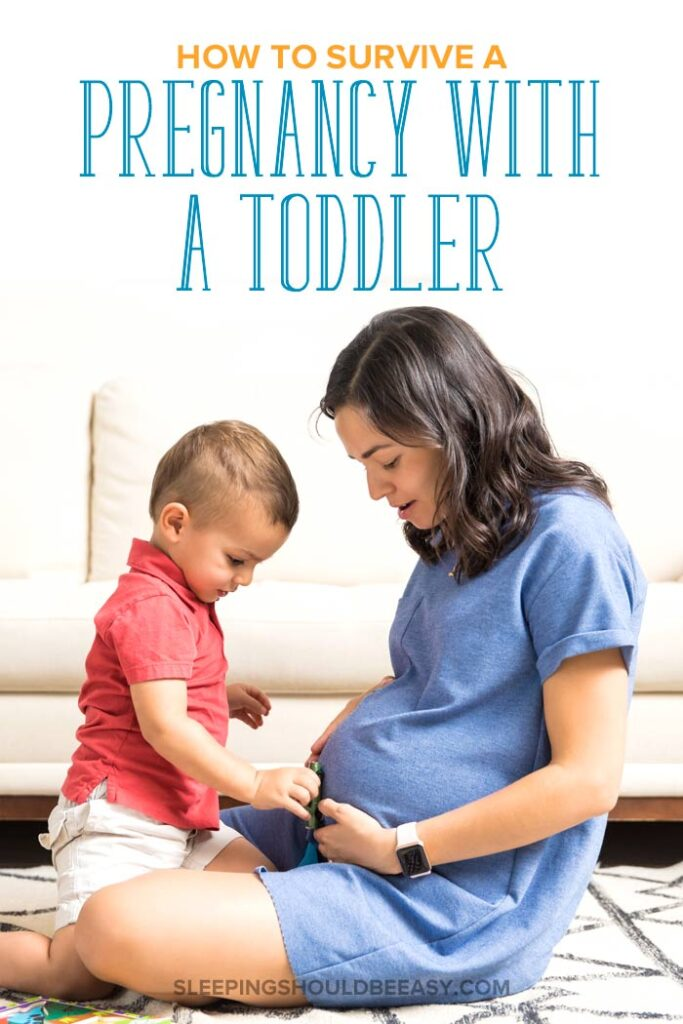 pregnancy with a toddler