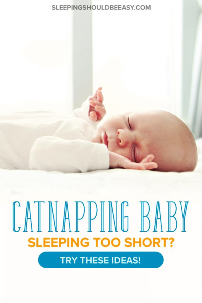 Catnapping baby asleep