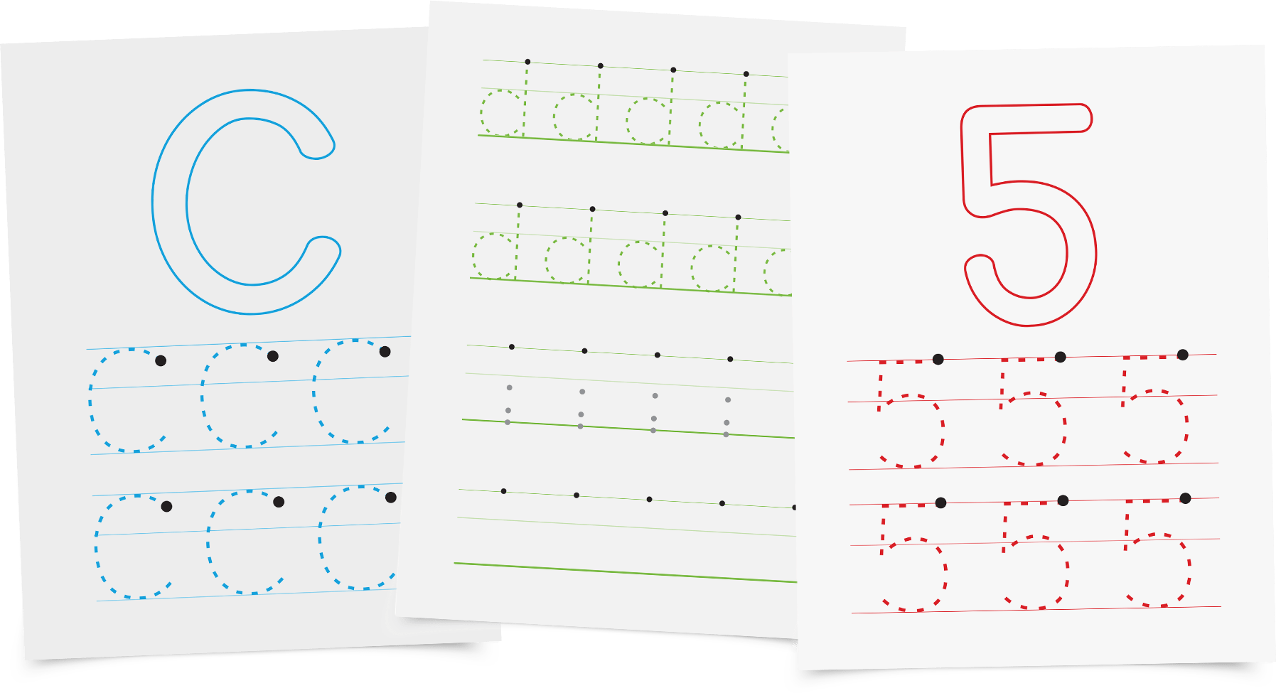 Letters And Numbers A Handwriting Workbook For Toddlers And Preschoolers