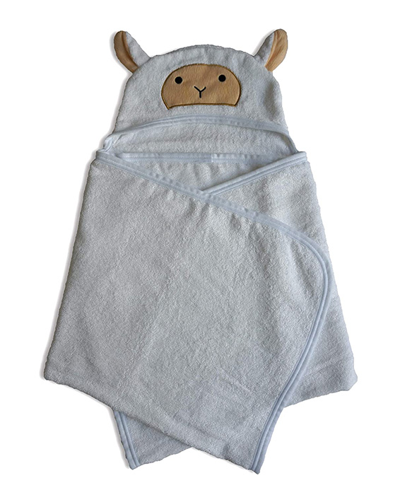 Bamboo Cotton Toddler & Kids Hooded Towel