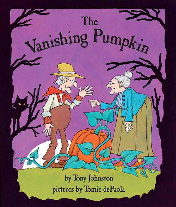 The Vanishing Pumpkin by Tony Johnston