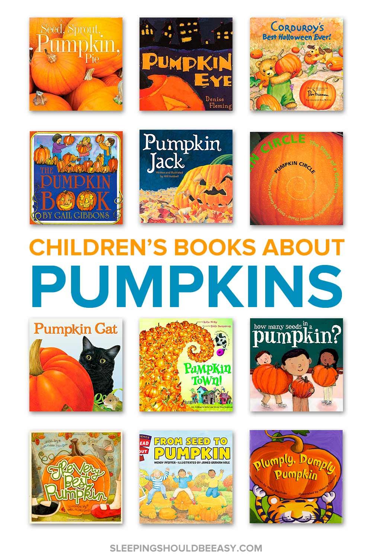 Pumpkin books for preschoolers