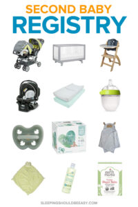 second baby registry