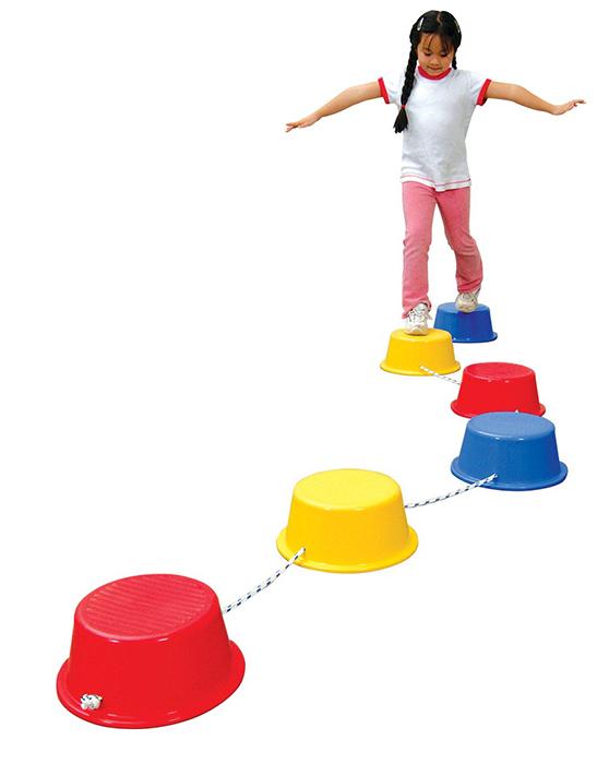 Stepping Buckets Balance Builders