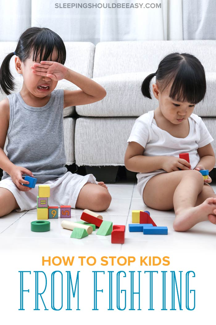 How to Stop Kids from Fighting