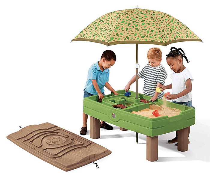 Sandbox water table