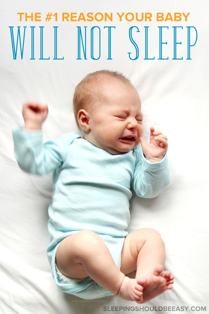 Crying baby will not sleep