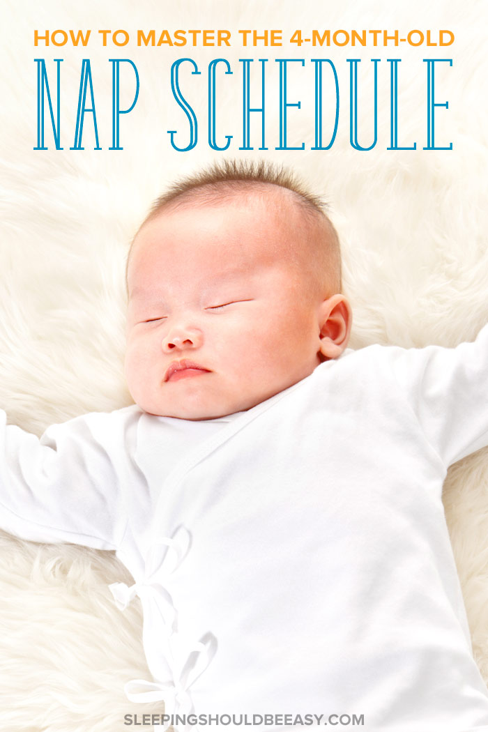 4 month old nap schedule