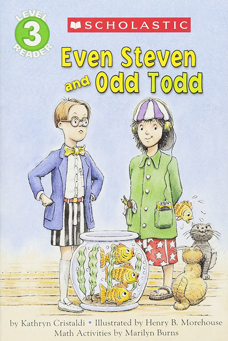 Even Steven and Odd Todd by Kathryn Cristaldi