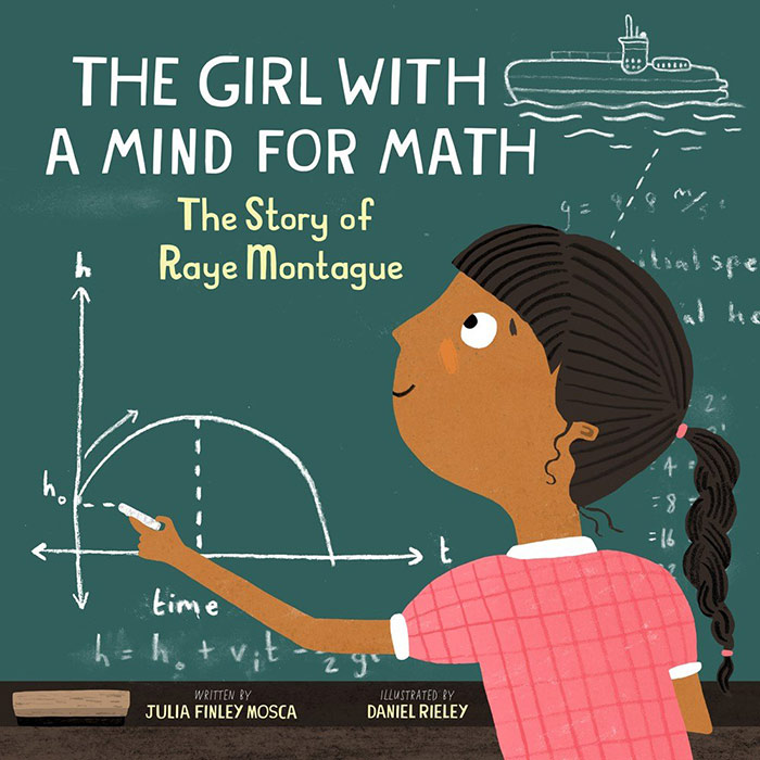 The Girl with a Mind for Math by Julia Finley Mosca
