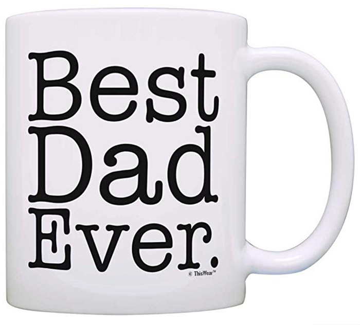 ThisWear Best Dad Ever Mug