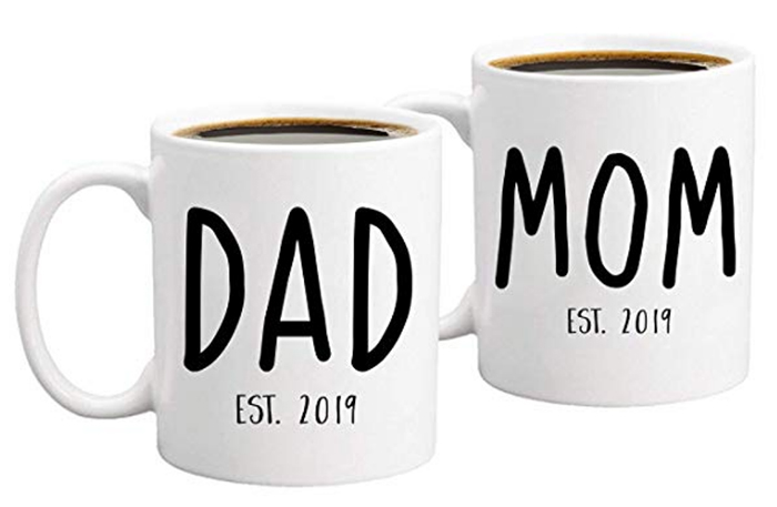 Gelid New Parents Coffee Mug Set